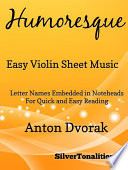 Humoresque Easy Violin Sheet Music