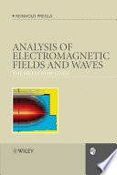Analysis of Electromagnetic Fields and Waves