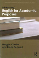 Cover of Introducing English for Academic Purposes