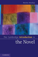 The Cambridge Introduction to the Novel ebook