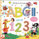 Write   Erase ABC and 123
