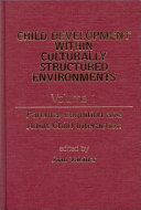 Parental Cognition and Adult child Interaction Book