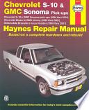 Chevrolet S-10 & Blazer, GMC Sonoma & Jimmy, Oldsmobile Bravada, Isuzu Hombre