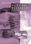 Resources for Nursing Research  : An Annotated Bibliography