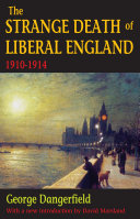 Pdf The Strange Death of Liberal England Telecharger
