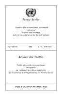 Pdf Treaty Series 2545 Telecharger