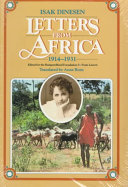 Letters from Africa  1914 1931