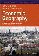 Pdf Economic Geography