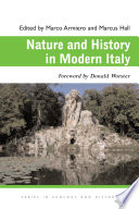 Nature and History in Modern Italy Book