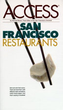 San Francisco Restaurant Access Book PDF