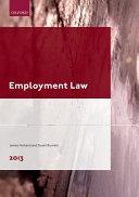 Employment Law 2013