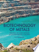 Biotechnology of Metals Book
