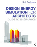 Design Energy Simulation for Architects