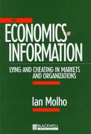 The Economics Of Information Book