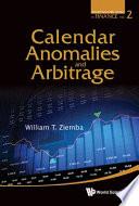 Calendar Anomalies and Arbitrage Book
