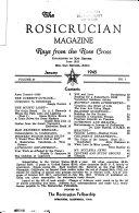 The Rosicrucian Magazine