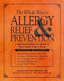 The Whole Way to Allergy Relief   Prevention
