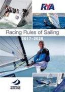 RYA Racing Rules of Sailing 2017 2020