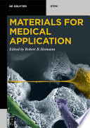 Materials for Medical Application