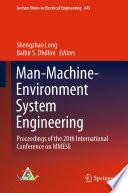 Man Machine Environment System Engineering