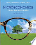 """Microeconomics: Theory and Applications"" by Edgar K. Browning, Mark A. Zupan"