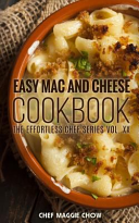Easy Mac and Cheese Cookbook Book