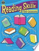 Reading Skills Mini Lessons