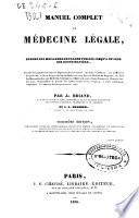 Manuel De Medecine Legale Et De Jurisprudence Medicale [Pdf/ePub] eBook