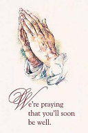 Praying Hands Postcard Package Of 25