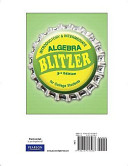 Introductory and Intermediate Algebra for College Students Book