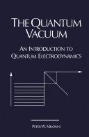 The Quantum Vacuum