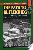 The Path to Blitzkrieg