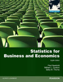 Statistics for Business and Economics  Global Edition