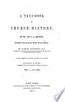 A Text-book of Church History: A.D. 1-726