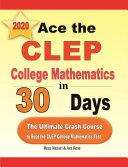 Ace the CLEP College Mathematics in 30 Days Pdf/ePub eBook
