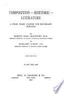 Composition, Rhetoric, Literature