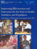 Improving Effectiveness and Outcomes for the Poor in Health  Nutrition  and Population