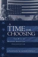 A Time for Choosing Pdf/ePub eBook