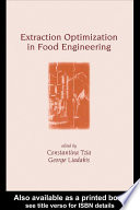 Extraction Optimization in Food Engineering