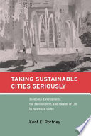 Taking Sustainable Cities Seriously Book PDF