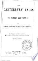 The Canterbury Tales and Faerie Queene   c    c    c Book PDF