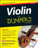 Violin For Dummies Book Online Video Audio Instruction