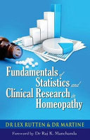 Fundamentals of Statistics and Clincial Research in Homeopathy