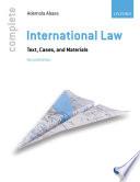 Complete International Law Book PDF