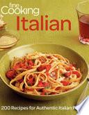 Fine Cooking Italian