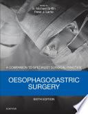 Oesophagogastric Surgery E Book