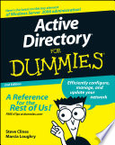 List of Dummies Guide To Active Directory E-book