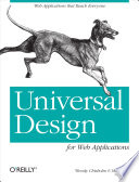 Universal Design For Web Applications Book PDF