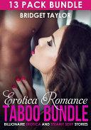 Erotica Romance Taboo Bundle: Billionaire Erotica