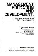 Management Education and Development